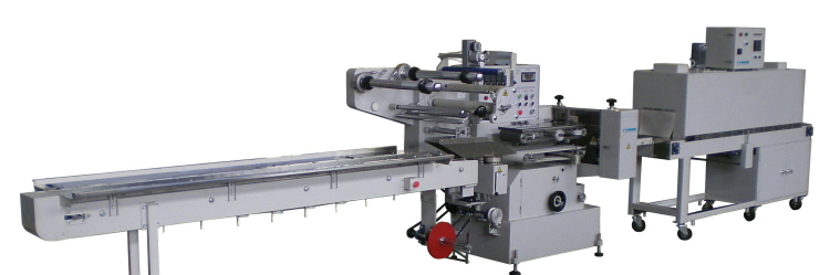 Heat Shrink Flow Wrapping Machine