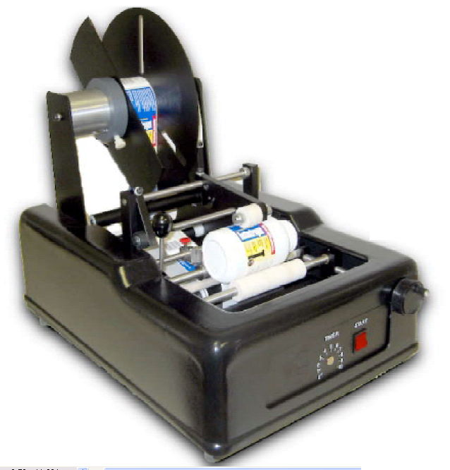 ADL-300 Semi-Automatic Wrap Labeler