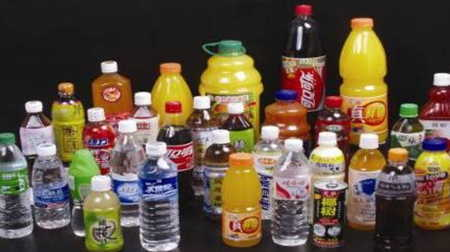 Picture showing the array of beverage packaging