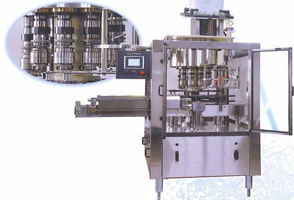 Automatic Rotary Screw Capping Machine