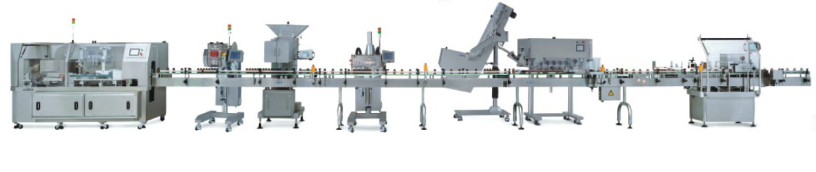 Full Tablet Packaging Line