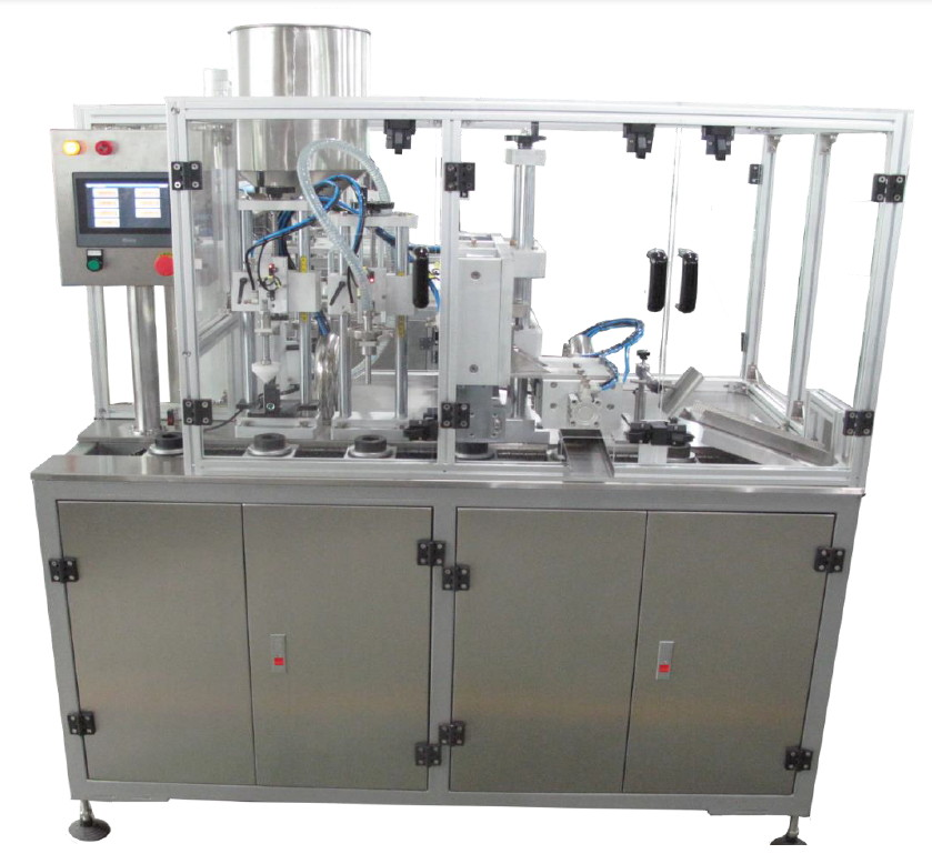 Semi-Automatic Tube Filling and Sealing System