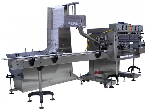 Automatic Capping Machine - Waterfall Style