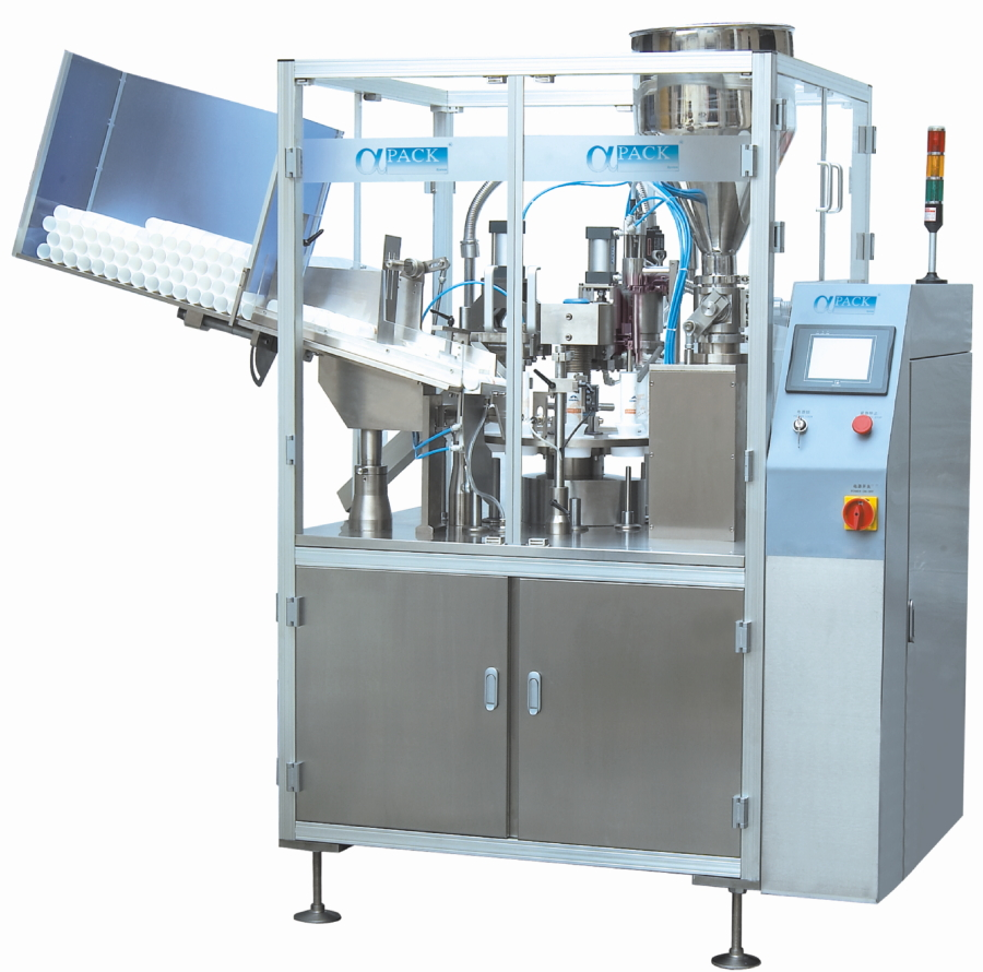 Automatic Tube Filling and Sealing Machinery