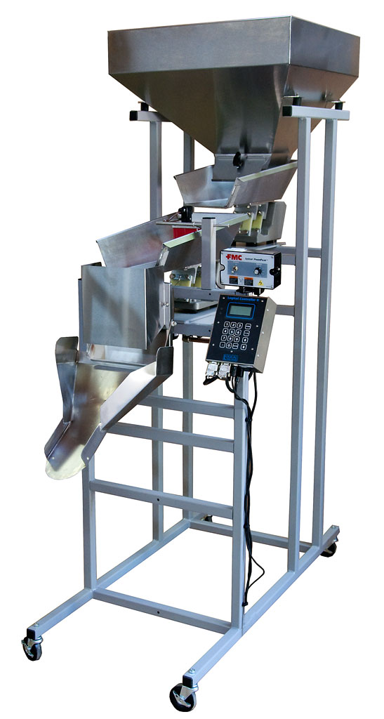 weigh and fill machine
