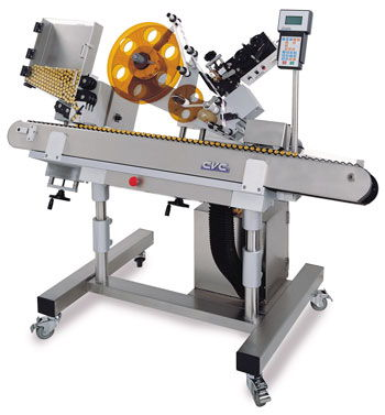 label wrapping machine