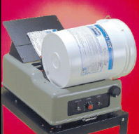 Semi-Automatic Labeler - Hot Melt Pails
