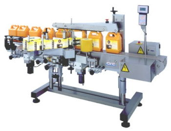 Automatic Labeling System - Front & Back Labeler